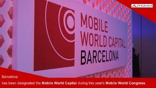 Ultra High Definition (UHDTV) 4K channel during the Mobile World Congress 2013