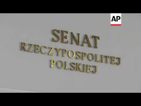 Protests in Poland over plans to alter judiciary