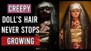 Download The Most Haunted Japanese Doll That Grows Real Human Hair - Okiku