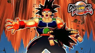 NEW BARDOCK & KID GOKU DUO! Dragon Ball FighterZ Bardock and Goku Dramatic Finish MOD