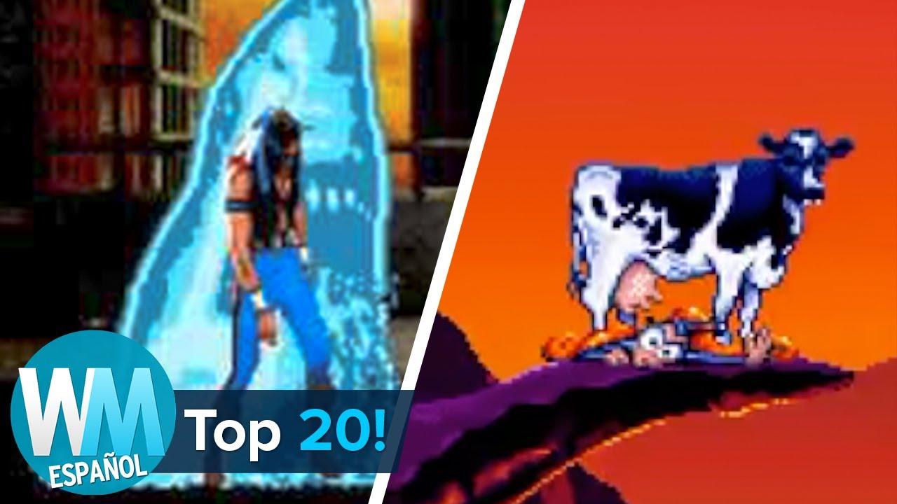¡Top 20 Muertes más DIVERTIDAS en Videojuegos!
