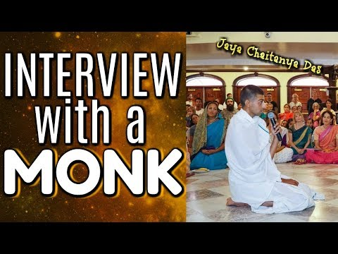 INTERVIEW WITH A MONK!