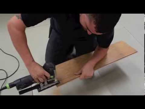 How To Lay Laminate Flooring Going Through A Doorway