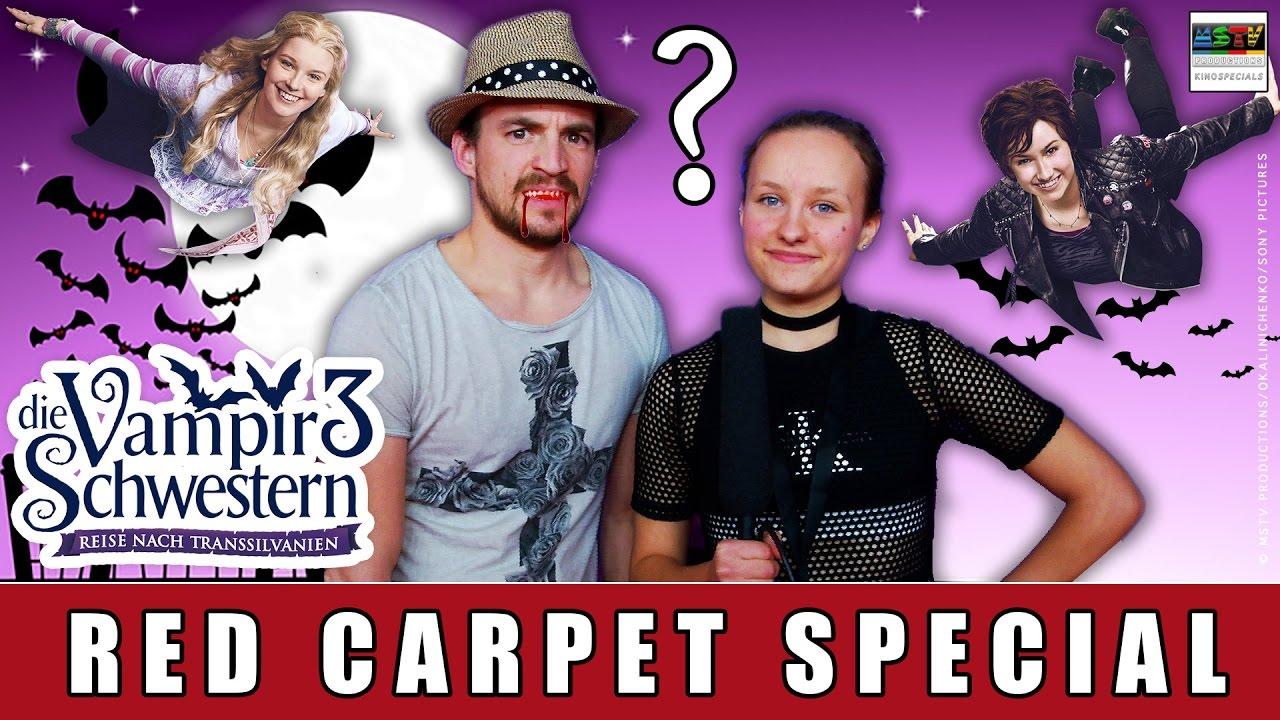 Die Vampirschwestern 3 - Red Carpet Special I Tom von der Isar I Steffi Hartl