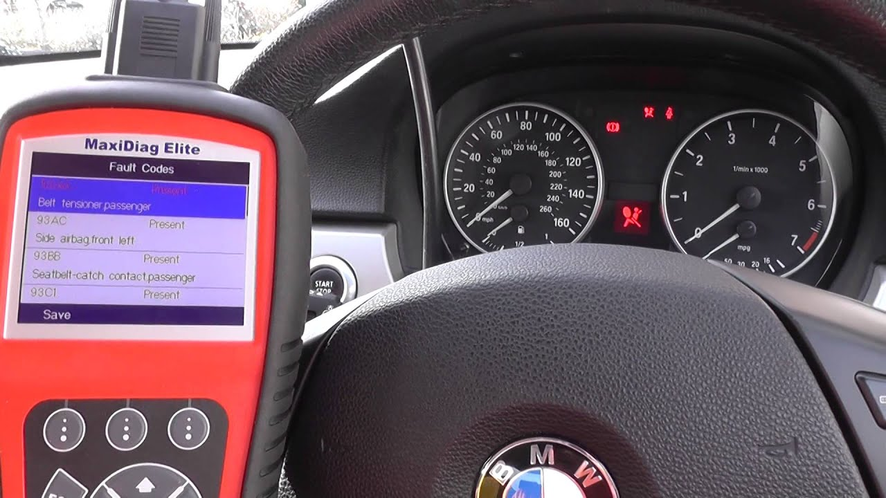 how to fix airbag warning light