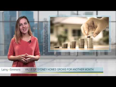 Value of Sydney homes grows for another month