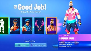 EVERYONE NOW GETS FREE ITEMS in Fortnite!