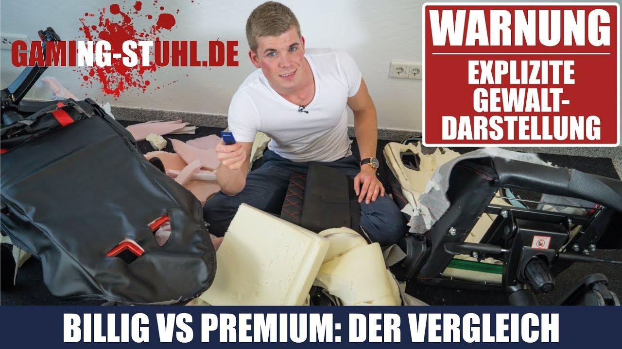 billig vs epic tjorven zerschneidet 2 gaming st hle der vergleich youtube. Black Bedroom Furniture Sets. Home Design Ideas