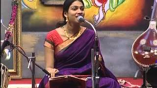 Gayatri Asokan Krishna Bhajans in Guruvayur Chembai Festival 2012