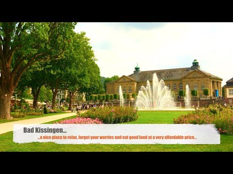 Bad Kissingen - a famous spa town in the Bavarian region