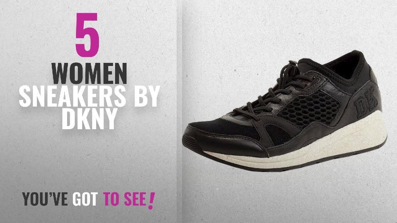 22646b9d1ae Featured Dkny Women Sneakers  2018   Donna Karan DKNY Women s Janine Black  Fashion Sneakers Shoes