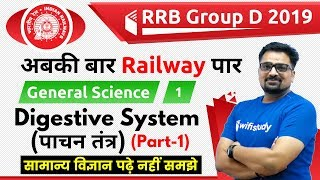 12:00 PM - RRB Group D 2019 | GS by Ankit Sir | Digestive System