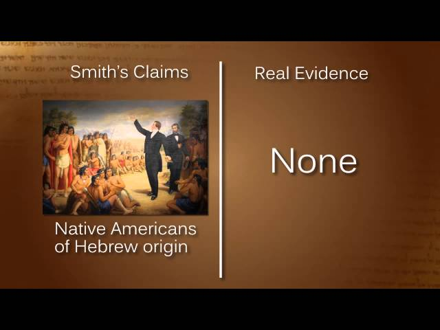 Is There Any Evidence for Mormonism?