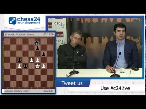 Kramnik against Adams, Berlim defence analysis - Post Conference - London Chess Classic 2014