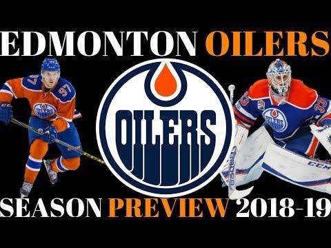 NHL Season Preview 2018-19 - Edmonton Oilers
