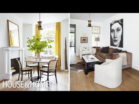 House Tour: A Designer's Stunning Toronto Home Makeover (Part 1)