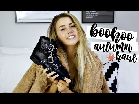 BOOHOO NEW-IN HAUL + 20% OFF CODE | AUTUMN STYLE GUIDE | CopperGardenx