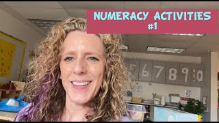 Preschool Numeracy Activities, Games, Songs and Transitions #1
