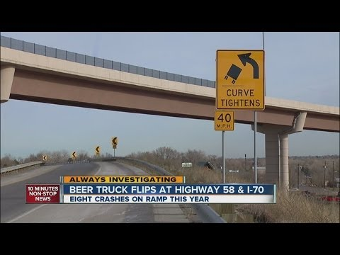 Another beer truck rolls on Hwy 58 near I-70