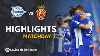 Highlights Deportivo Alavés vs RCD Mallorca (2-0)