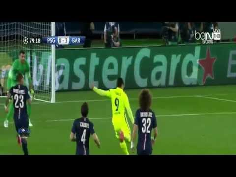 PSG vs Barcelona 1-3 ( hafid derradji ) All Goals│Champions League 15 04 2015
