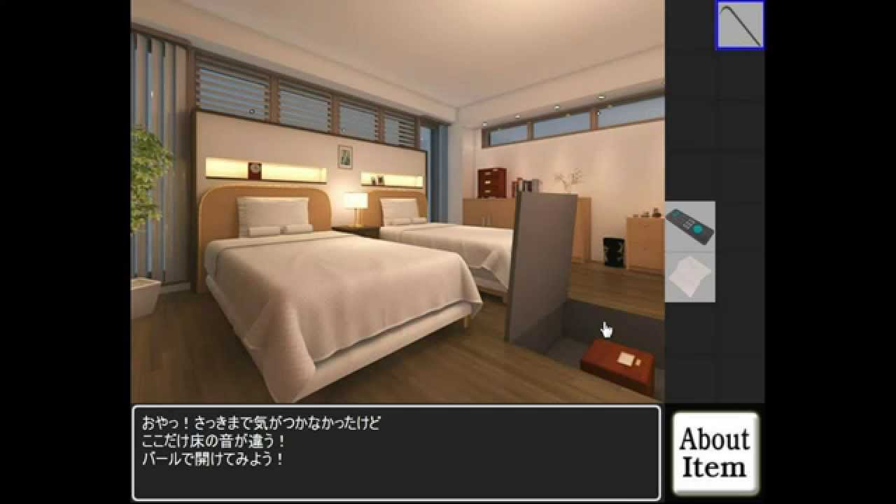3dgc works t bedroom escape walkthrough youtube