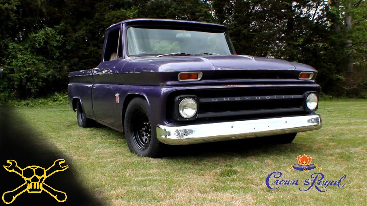 1964 chevy c10 shop truck build 6 crown spoyal youtube. Black Bedroom Furniture Sets. Home Design Ideas