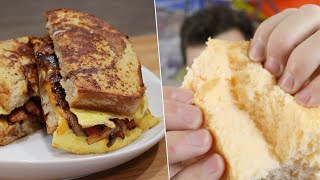 I Re-Tested Tiktok Recipes & Made Them BETTER - Cloudbread, Whipped Coffee, Egg Sandwich Hack