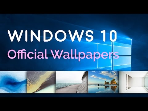 New Download Windows 10 Official Wallpapers Full Hd Youtube