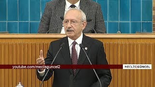 Kemal Kılıçdaroğlu / 19 Şubat 2019 / CHP Grup Toplantısı