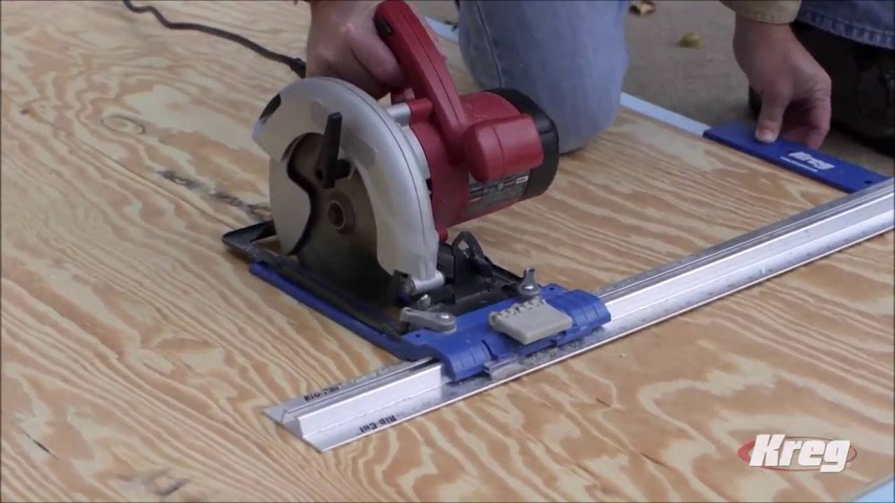 The Kreg Rip Cut Saw Guide Youtube