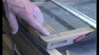 How To Repeg a Window Sash