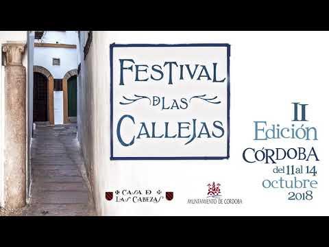 Calles de Córdoba, el Festival 2018