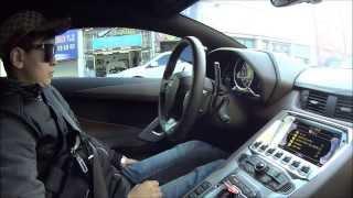 람보르기니 아벤타도르 체험기 1편! Lamborghini Aventador LP 700-4 test-drive (no.1)