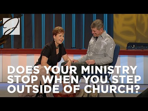 Does your ministry stop when you step outside of church?