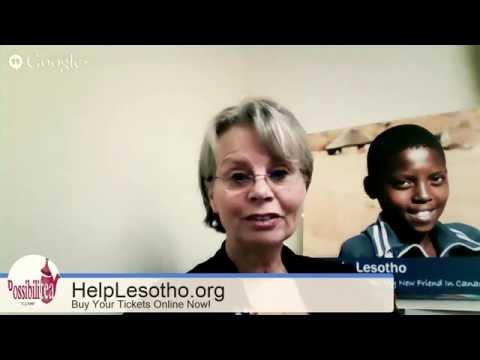 Ottawa BuzzTV Spotlight on Help Lesotho. PossibiliTea: Celebrating Girls and Women