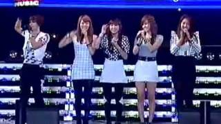 포미닛(4minute) - MUZIK+핫이슈 (Hot Issue)-82th Power Music Live Performance-7/11/09