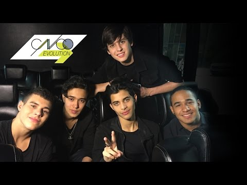 CNCO Evolution | Richard showed the boys his one and only New York