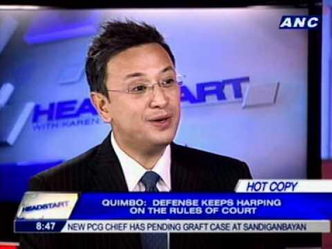 [ANC Headstart] Prosecution panel spokesperson Rep. Miro Quimbo 2/2