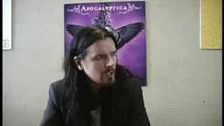 Apocalyptica Perttu Interview - I Don't Care Part 2