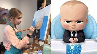 Бэби Босс Молокосос Целый урок рисования the Baby Boss мультик. Моя премьера