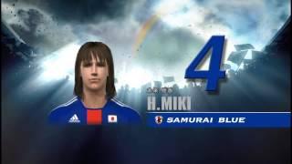 PS3の ワールドサッカー ウイニングイレブン2010 蒼き侍の挑戦 です。 U...
