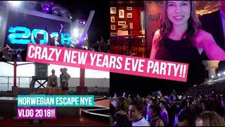 NORWEGIAN ESCAPE CRUISE VLOG! | Day 2 (New Years)