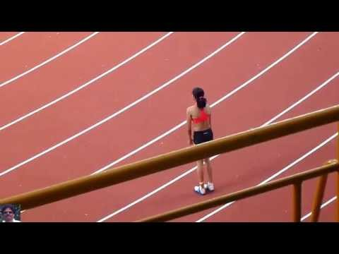 WOMEN'S HIGH JUMP FINAL.National Inter State Sr. Athletics Championships-2013. Chennai
