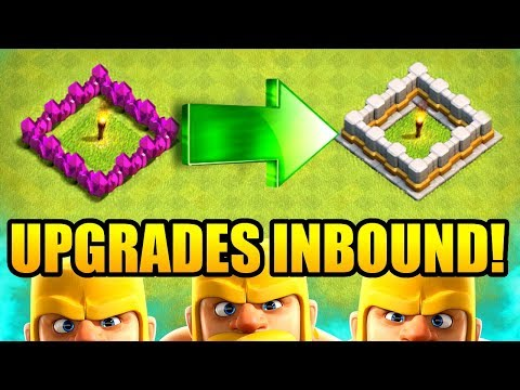 HOW MANY UPGRADES CAN WE DO!? - Clash Of Clans - NEW MINI UPDATE 5v5