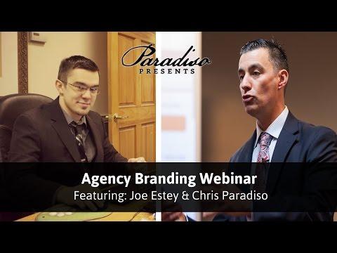 Paradiso Presents Webinar on Agency Branding