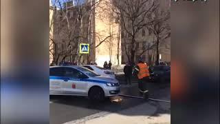 Смотреть видео Санкт-Петербург: взрыв в Военно-космической академии имени Можайского 02.04.2019 онлайн
