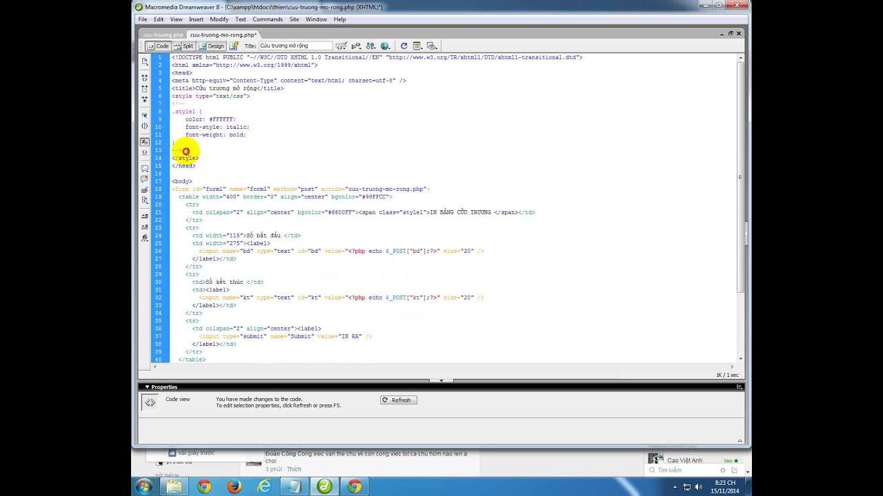 Lập trinh web - PHP căn bản - Bài 19 - tin học