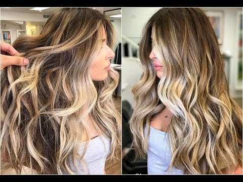 How I Get My Balayage Hair Color Vlog Youtube