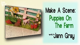 Make A Scene   Puppies On The Farm